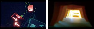 映像実習 「 光」をテーマ