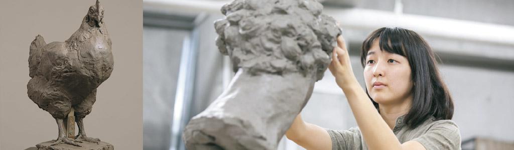 夏季講習彫刻科イメージ