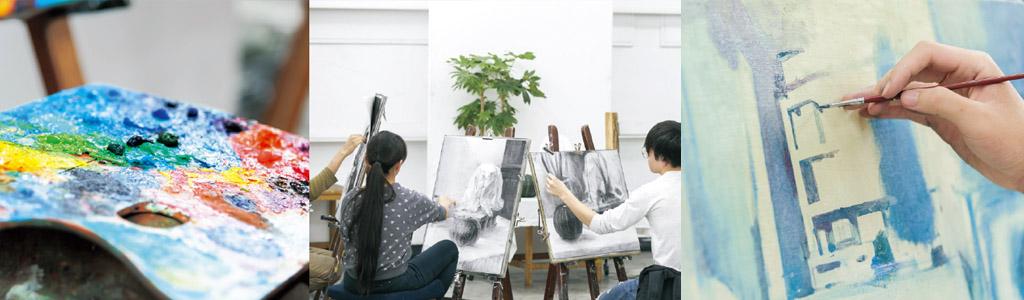 夏季講習油画科イメージ