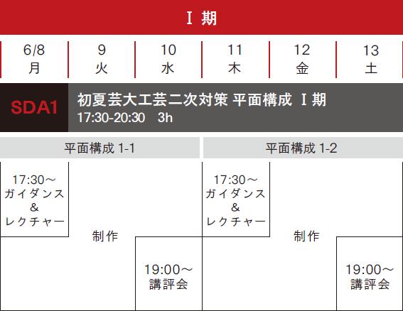 工芸科 online初夏【しょか】講習会