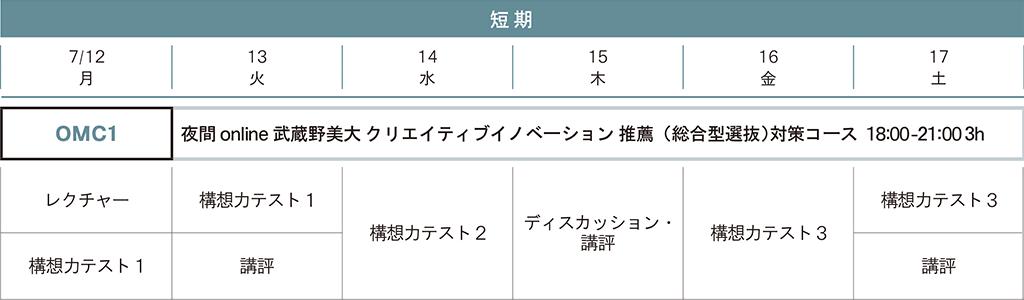 武蔵野美術大学 クリエイティブイノベーション学科 推薦(総合型選抜)講座