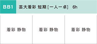 日本画科 夏季講習会2020 短期BB1