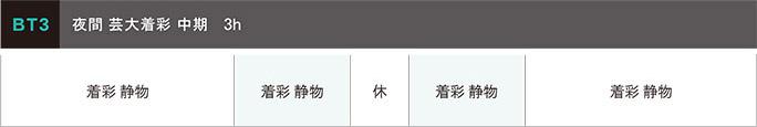 日本画科 夏季講習会2021年 中期BT3