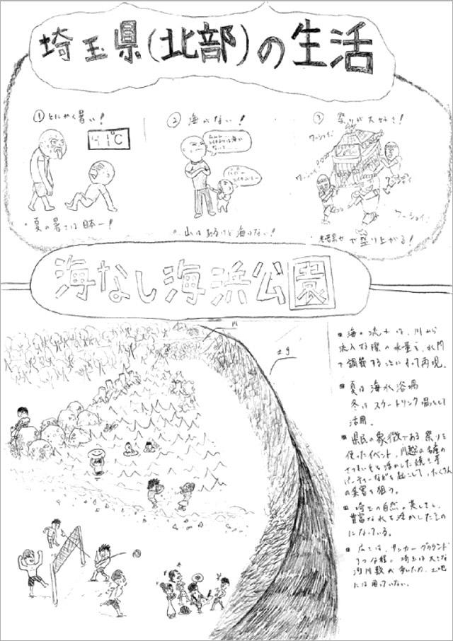 参考作品:埼玉県(北部)の生活